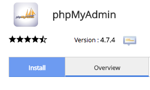 cpanel-softaculous-phpmyadmin