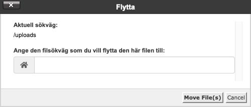 Flytta-dialog