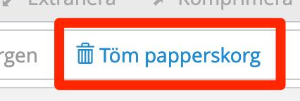 Töm papperskorg