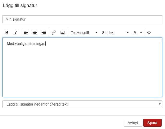 Desugna din signatur