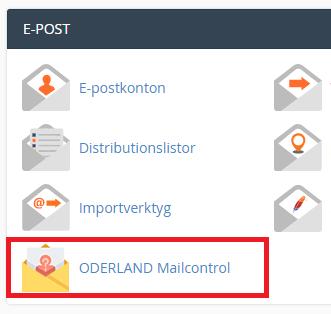 Ikonen för ODERLAND Mailcontrol