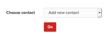Choose contact