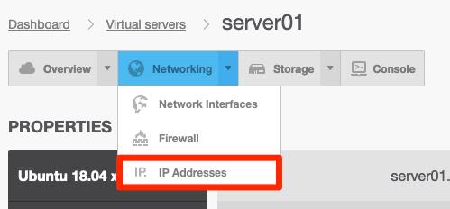 Välj IP addresses