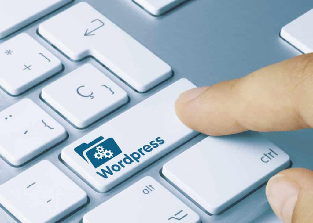 WordPress uppdatering