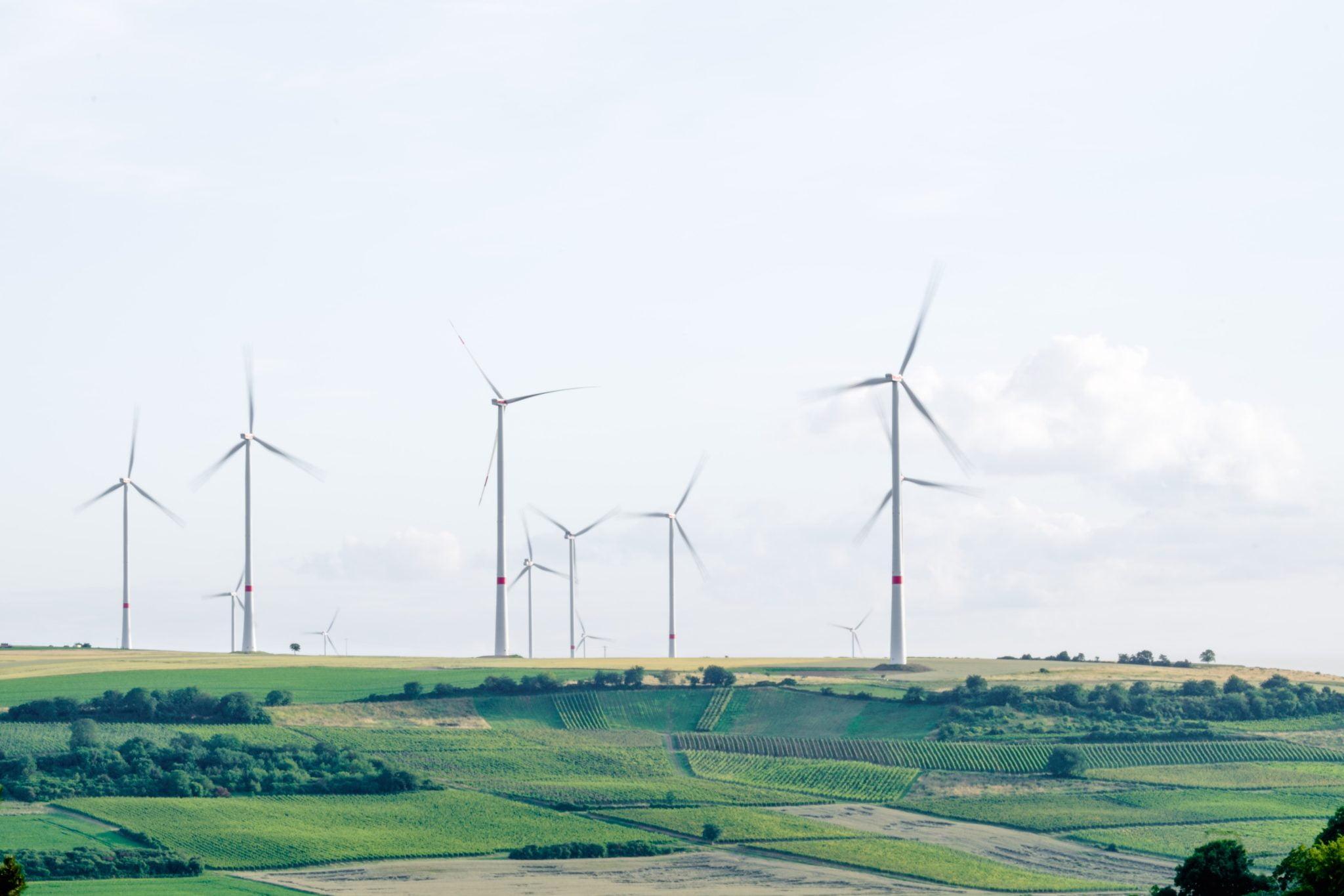 Vindkraftverk skapar miljövänlig el