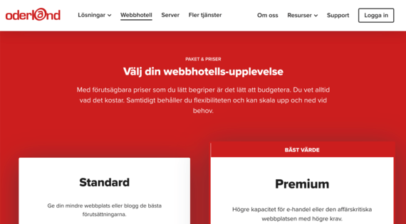 Oderlands nya webbplats