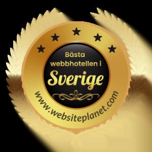 Bästa webbhotellen i Sverige